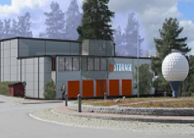 Nyproduktion av lagerhotell i Tyresö – 24storage