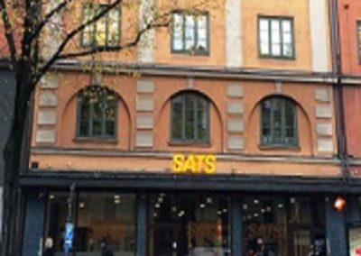Hyresgästanpassning för SATS Sveavägen