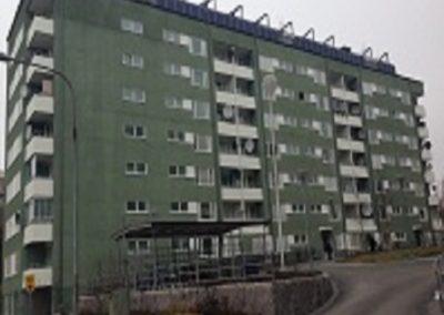 Ombyggnad flerbostadshus, kv Storkvarnen 4, Rinkeby