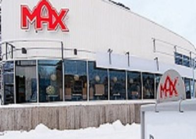 Nybyggnad av MAX hamburgerrestauranger Täby, Lidingö och Ringsaker Norge