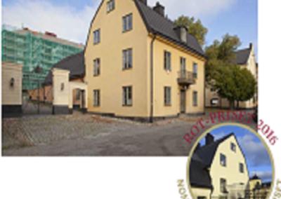 Barnängens gård 1, portvaktshuset, nominerat till ROT-priset 2016