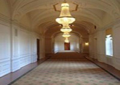 Renovering Sammanbindningsbanan i Riksdagshuset