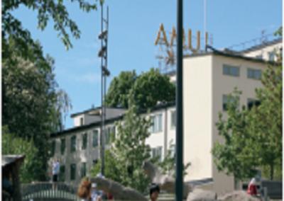 Ombyggnad till bibliotek, kv. Luma 1 (hus 24), Hammarby Sjöstad