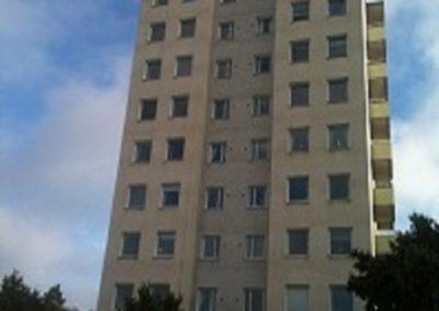 Stambyte i flerbostadshus, kv Räven, Lidingö
