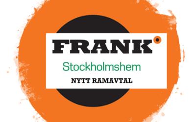 Nytt ramavtal med Stockholmshem