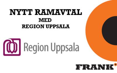 Nytt ramavtal med Region Uppsala