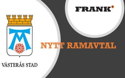 Nytt ramavtal med Västerås stad