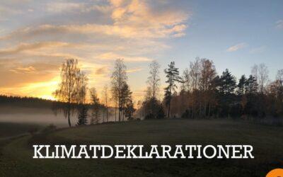 Ny lag på klimatdeklarationer vid nybyggnad