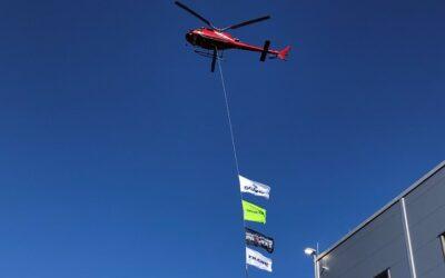 Helikopterlyft hos Scania