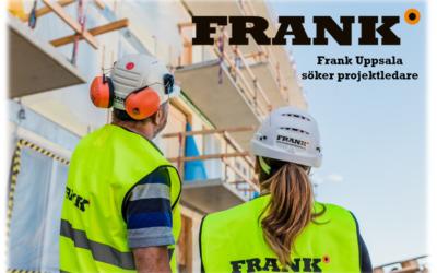 Frank Uppsala söker projektledare!